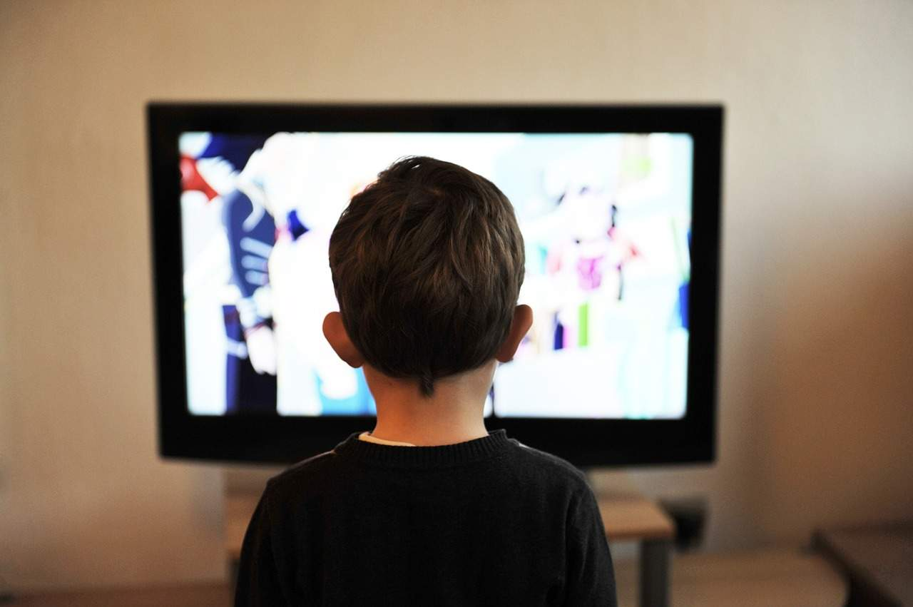 Image result for teen watching tv